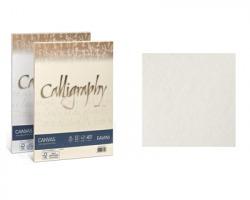 Favini A690214 Calligraphy Canvas A4 100gr/mq 50 cartoncini - bianco 01