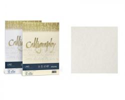 Favini A690514 Calligraphy Lino A4 100gr/mq 50 cartoncini - bianco 01