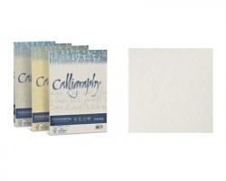 Favini A690084 Calligraphy pergamena - 50 cartoncini f.to A4 190gr - bianco 01