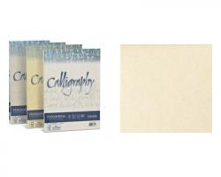 Favini A69Q084 Calligraphy pergamena - 50 cartoncini f.to A4 190gr - naturale 06