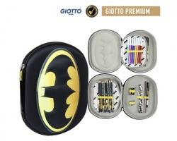 Batman Astuccio triplo 3D a una zip assortito di pennarelli Giotto premium
