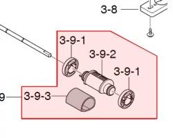 Samsung JC90-00932A Mea roller pick up originale (ex JC97-02441A, JC6601168A)