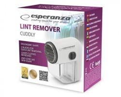 Esperanza ECS003E Dispositivo rimuovi pelucchi e lanugine con contenitore trasparente