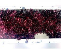 Decorazione Filo rosso metallico Ø 150mm lungo 2.7mt, in scatola