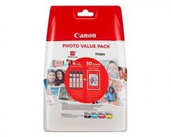 Canon CLI581XL BK/ CY/ ME/ YE/ Multipack XL 1x4inkjet originale (2052C004)