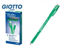Fila-Tratto 826104 Tratto cancellik- penna verde con inchiostro cancellabile, 0.4mm ,12pz