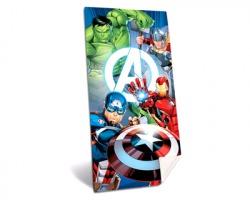 Avengers Telo mare in cotone, misura 140x70cm