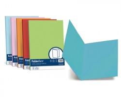 Favini A50G664 Folder simplex cartellina Luce-Acqua 200gr 50pz - azzurro 55