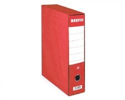 Brefiocart 0201190/RO Brefio - Registratore protocollo rosso dorso 8cm - formato utile 23x33cm - 1pz