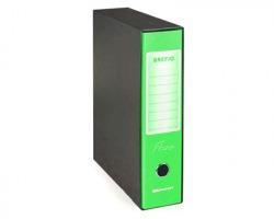 Brefiocart 0201190/VF Brefio fluo - Registratore protocollo verde fluo dorso 8cm - formato utile 23x33cm - 1pz