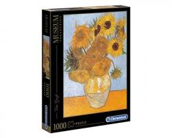 "Clementoni 31438 Museum Collection - Puzzle Van Gogh ""Girasoli"", 1000pz"