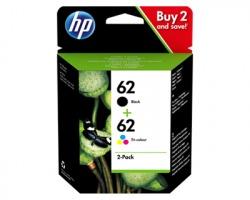 HP N9J71AE Pack inkjet nero + colore orginale (62) (ex J3M80AE)
