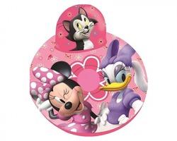 Disney Minnie Poltrona gonfiabile, misura 60x40cm - 1pz