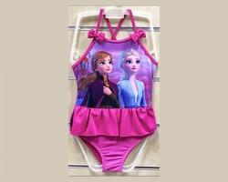 Disney Frozen Ice Magic costume da bagno intero, colore fucsia 6 anni - 1pz