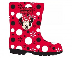 "Disney Minnie Stivaletti in gomma ""Minnie Mouse"", taglia 27/ 28"