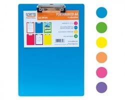 Scatto 349-ASS Portablocco in PVC, colori assortiti