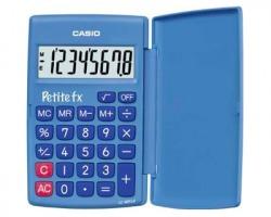 Casio LC-401LV-BU Calcolatrice tecnico scientifica blu grande display 8 cifre