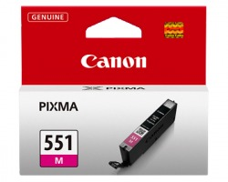 Canon CLI551M Cartuccia inkjet magenta originale (6510B001AA)