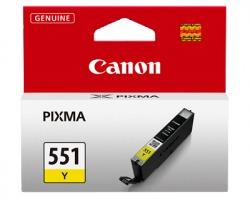 Canon CLI551Y Cartuccia inkjet giallo originale (6511B001AA)