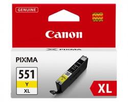 Canon CLI551YXL Cartuccia inkjet giallo originale alta capacità (6446B001AA)