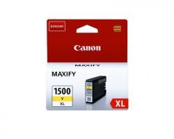 Canon PGI1500XLY Cartuccia inkjet giallo originale 12ml (9195B001)